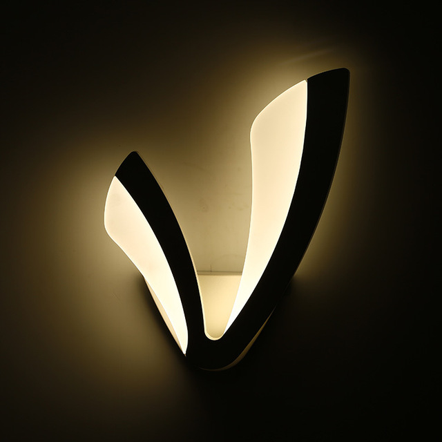 Nouveau Design V Forme Mur Applique Moderne Applique Murale A Led