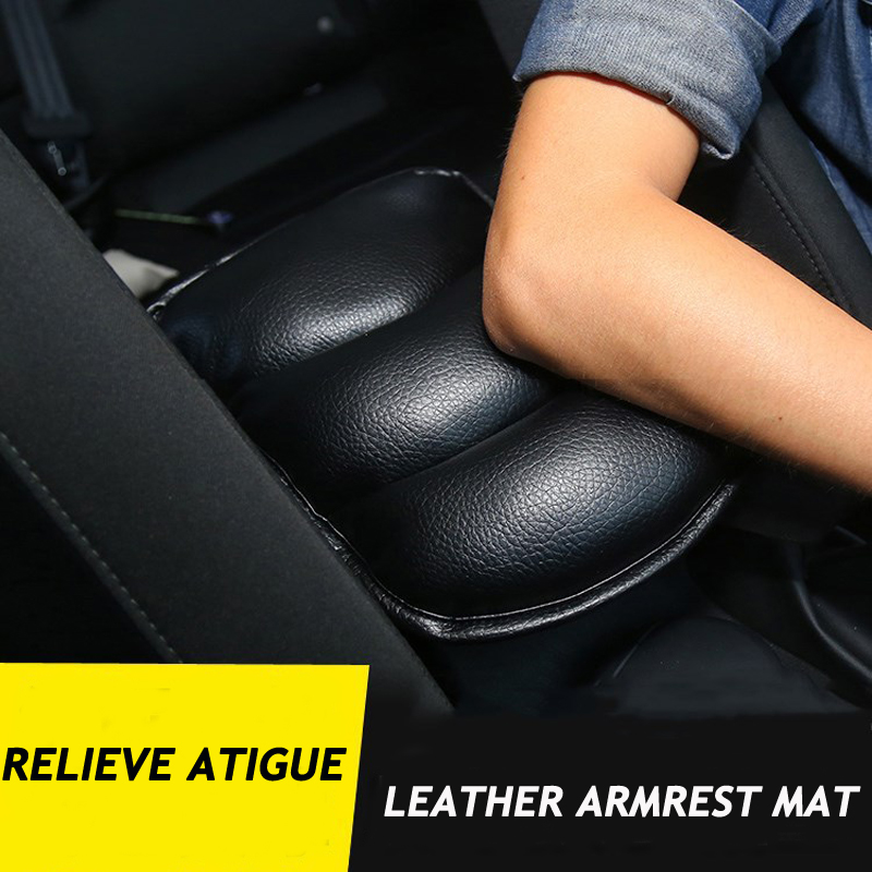 Car Stowing Tidying Car Armrest Pad Universal Auto Armrests Car Center Console Arm Rest Seat Box Pad Storage Auto Protective Attractive Appearance Automobiles & Motorcycles Interior Accessories