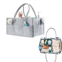 Foldable Baby Diaper Caddy Organiser Gift Kid Toys Portable Storage Bag/box for Car Travel Changing Table Organizere