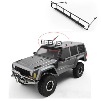 RC 1/10 Roof Metal Spotlight Stand(Support)Assembly For 1:10 Rc Crawler Car AXIAL SCX10 ii JEEP 90046 XJ D90 TF2 TRAXXAS TRX4