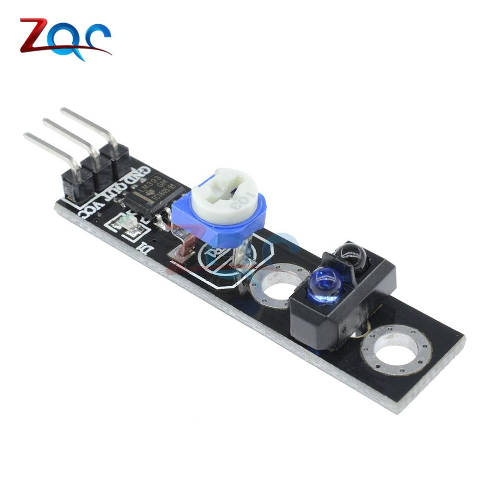 цена на 5pcs TCRT5000 Line Track Sensor Module Reflection Infrared Follower Sensor Switch Obstacle Avoidance Module KY-033