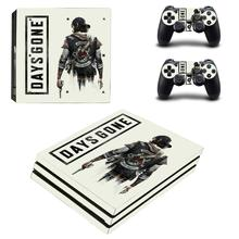 Game Days Gone PS4 Pro Skin Sticker Decal for PlayStation 4 Console and Controllers PS4 Pro Skin Sticker Vinyl