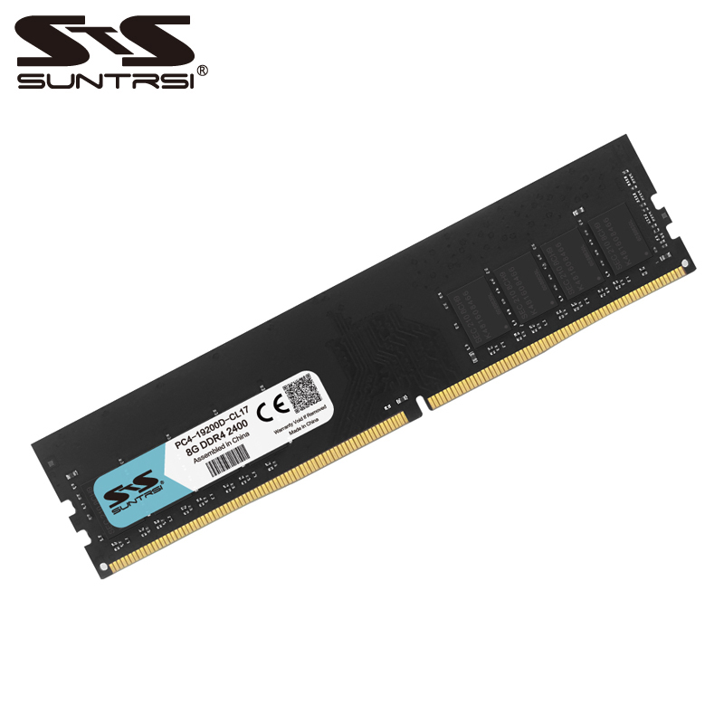 Suntrsi nouveau ram 8 gb DDR4 de bureau mémoire 2133 mhz 2400 mhz 1.2 v pour ordinateur de bureau