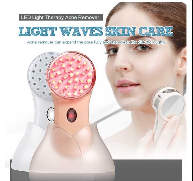 light therapy essentials acne treatment system blue true glow light. Black Bedroom Furniture Sets. Home Design Ideas
