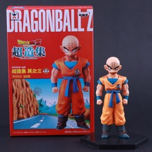 Banpresto Craneking Japan fashion  Anime Dragon Ball Z Monkey King Kuririn Krillin PVC Action Figure Collection Toy Doll