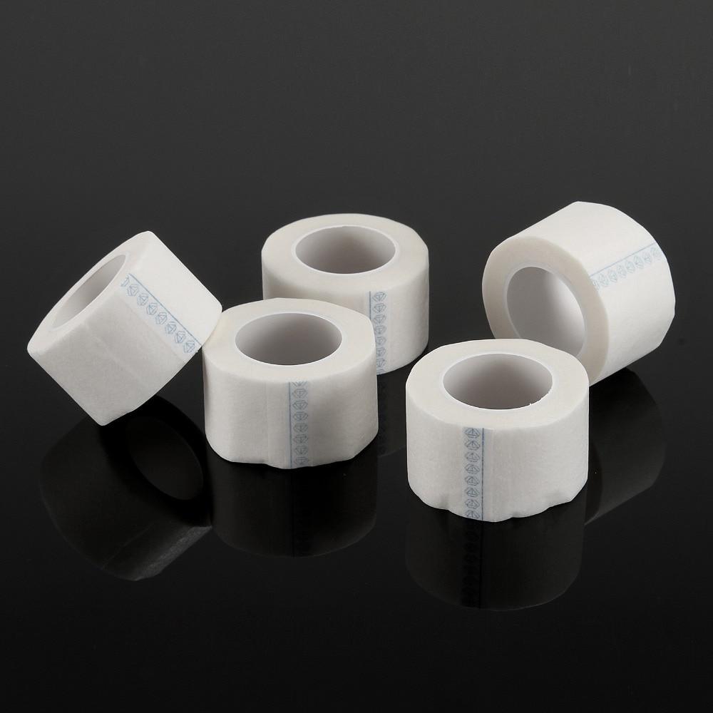 5/10pcs Rolls Adhesive Tape Eye Pad Eyelash Extension under Patch, Makeup Tool Individual False Eyelash Supply Medical Tape