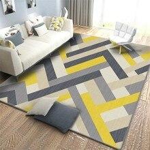 Скандинавский геометрический Коврик для гостиной, спальни, кабинета, прикроватные коврики прямоугольный декор, витрина, коврики для дома, 3D Рисунок, коврик для йоги