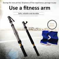 Household fitness 30/40/50/60kg electroplated arm strength apparatus chest muscle training grip strength bar