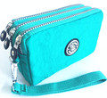 2016 Nueva J-Bg Rosa Nuevas Mujeres de la Marca Original de La Moda de Las Mujeres Embrague billetera Feminina bolsas de Nylon Estojo Bolsa Cerrojo 10 colores