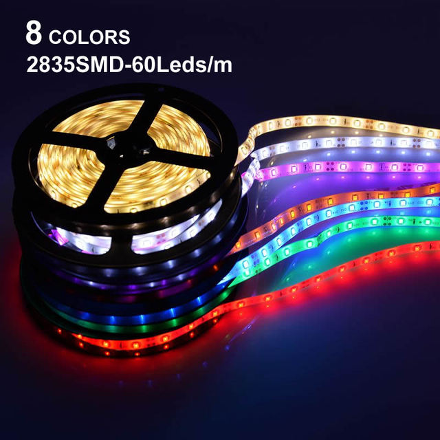 8 colors led strip 2835 smd more brighter than 3528 3014 rgb led 8 colors led strip 2835 smd more brighter than 3528 3014 rgb led flexible strip light aloadofball Images