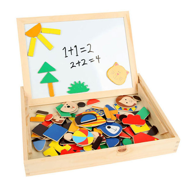 2 Years Older Children Educational Math Toys Magnetic Learning Puzzle Unisex Toys For Kids Intellegence Toys For Boys Girls
