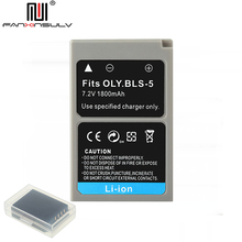 PS-BLS5 BLS-5 BLS5 BLS-50 BLS50 Battery for Olympus PEN EPL2 EPL3 EPL5 EPL6 EPL7 EPL8 EPL9 EPM2 OMD EM10 II III Stylus1 tracked