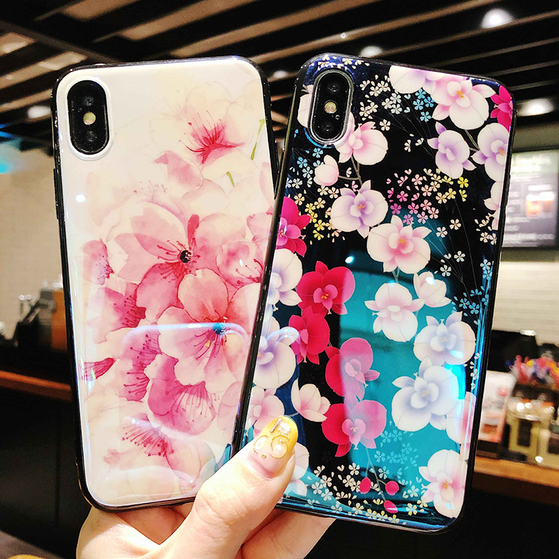 Applicable to Blu-ray imd mirror shell mobile phone case