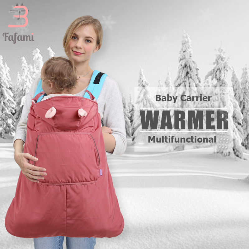 Backpacks & Carriers Winter Baby Carrier Newborns Cap Cloak Windproof Velvet Warm Backpacks Wrap Infant Baby Accessories Hoodie Backpack Holding Kid Activity & Gear