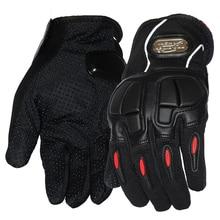 Neue Pro Biker Motorrad Handschuhe Vollfinger Motorrad Motocross Weiche Beleg Harte Schale Puffer Design Schutzausrüstung Handschuh Für Männer