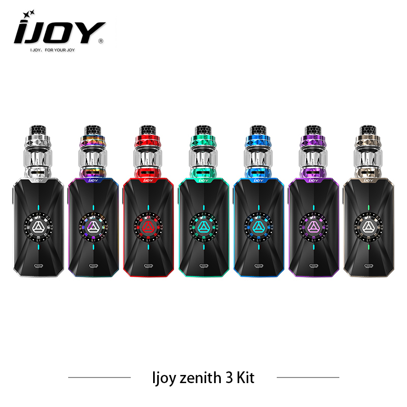 IJOY Zenith 3 Kit Zenith 3 360W Box MOD With IJOY Diamond Subohm Tank vs Avenger E Cigarette Vape without dual 20700 battery orginal ijoy maxo zenith box mod 300w no 18650 battery for ijoy rdta 5 tank atomizer electronic cigarette mod 510