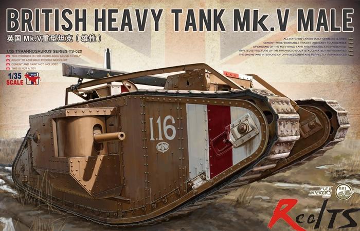 Oyuncaklar ve Hobi Ürünleri'ten Modeli Yapı Setleri'de Meng Model ts 020 1/35 İngiliz ağır tank Mk. V erkek plastik Model seti'da  Grup 1