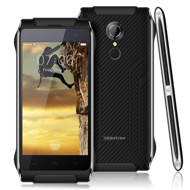 HOMTOM HT20 Waterproof Shockproof 4.7''Android 6.0 Quad Core 2GB RAM 16GB ROM Dustproof MT6737 FDD-LTE Fingerprint Mobile Phone