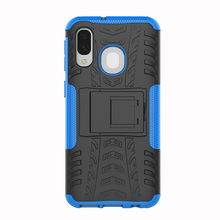 For Samsung Galaxy A40/A70 Case Hybrid TPU Armor Silicone Rubber Hard  Back case Shockproof Impact