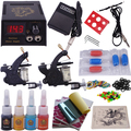 Beginner Complete Tattoo Kit Digital Permanent Makeup Rotary Tattoo Machine Set Body Art YLT-90 Starter Tattoo Kits