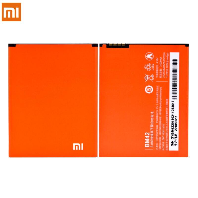 Original Battery Bm42 Bm45 Bm46 Bn41 Bn43 For Xiaomi Redmi