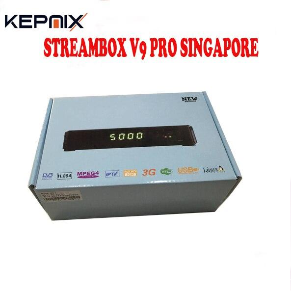singapore STREAMBOX V9 PRO VS blackbox c801 hd MOST Stable Singapore starh*b cable TV box upgrade C801 HD football game buy monitor in singapore