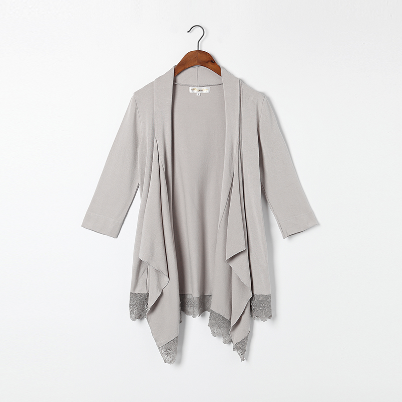 Cotton Cardigan Women Natural Fabric Light Gray Blue Black White ...
