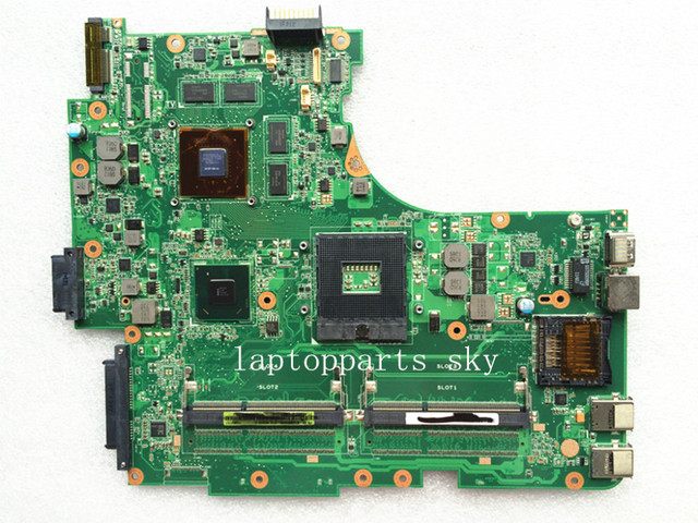 Original para asus n53sv n53sn n53sm rev: 2.2 madre del ordenador portátil usb3.0 gt540m 2g hm65 mainboard