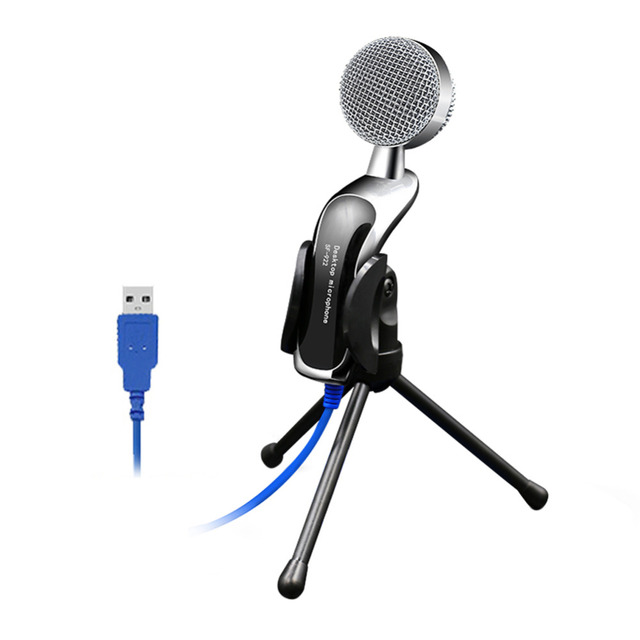 SF-922B Professional Sound USB Condenser Microphone  Podcast Studio for PC Laptop Chatting Audio Recording Condenser Mic New