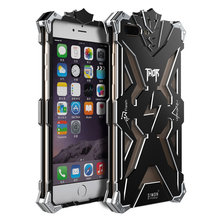 High Quality Armor Aluminum Alloy SIMON THOR Xtreme Design Metal Body Shell with Smooth Corner Phone Case for iPhone 7 Plus