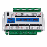 Mach3 USB 400KHz 4 Axis CNC Motion Control Card Interface Breakout Driver Board Support Windows 7