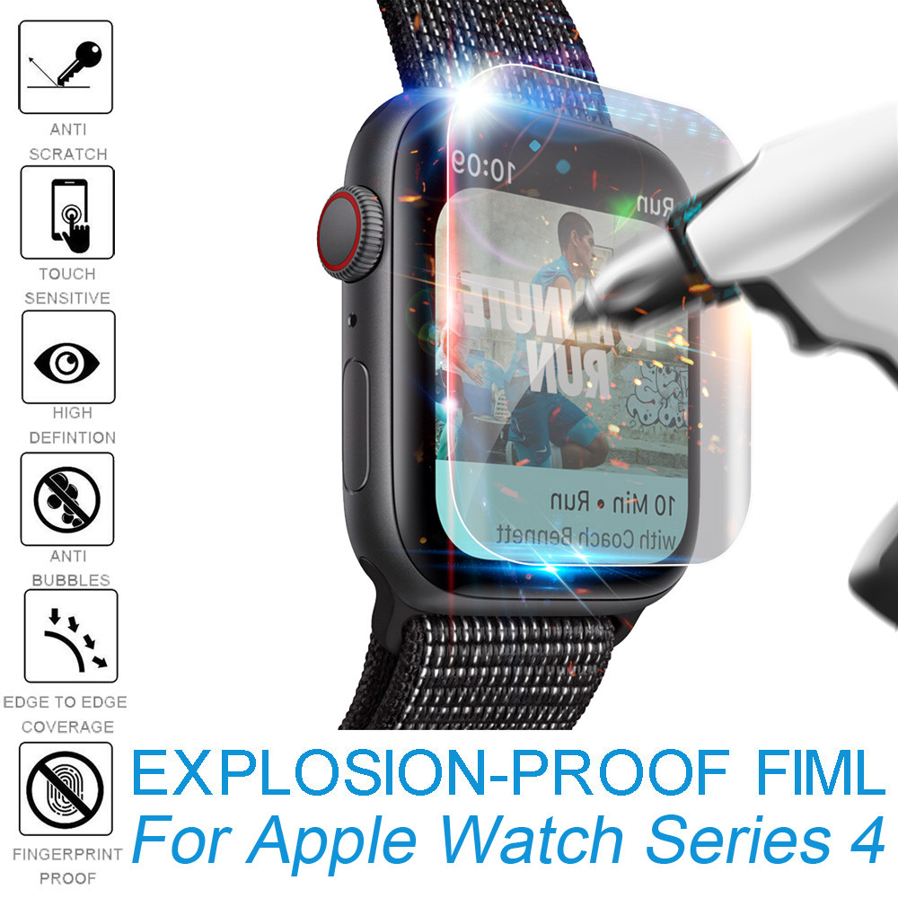 5Pack Explosion-proof TPU Screen Protector Film For Apple Watch Series 4 (44mm) Cover Protector Protective Glass Film hat prince tpu explosion proof high resolution screen film