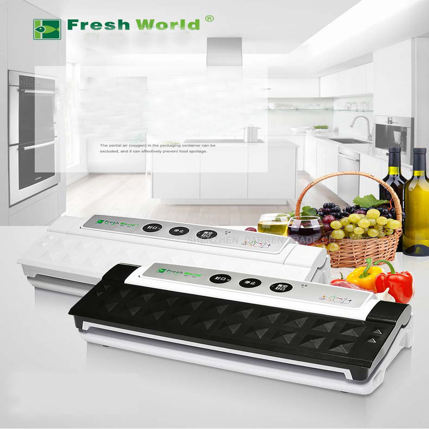 220V Vacuum Sealer Best Household Food Preservation Vacuum Sealer Home Kitchen