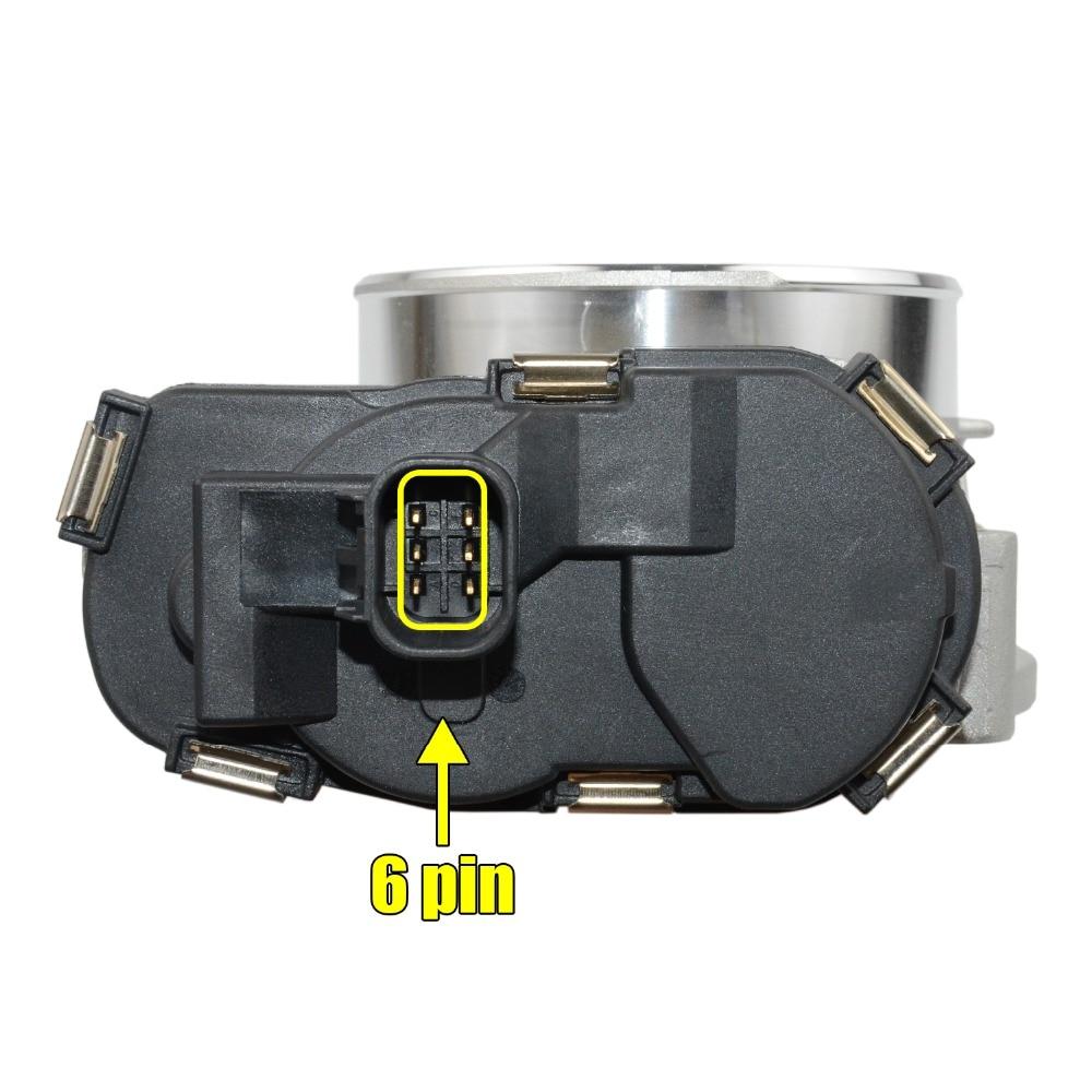 small resolution of electronic throttle body assembly for escalade sierra silverado camaro corvette 12601387 12629992 217 3151