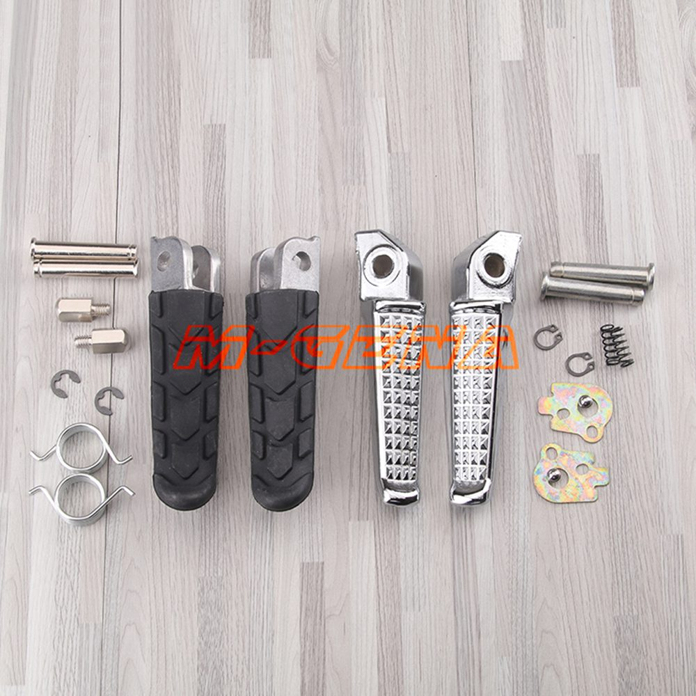 Motorcycle Front and Rear Footrests Foot pegs For Honda CB400 Superfour VTEC 1-4 CB250 CB900 Hornet 250 900 CB1300