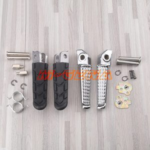Motorcycle Front and Rear Footrests Foot pegs For Honda CB400 Superfour VTEC 1-4 CB250 CB900 Hornet 250 900 CB1300(China)