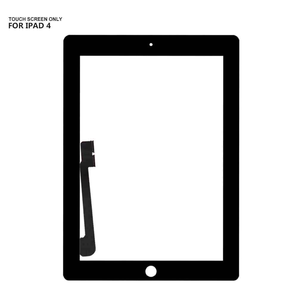 For iPad 3 Touch Screen Digitizer Glass Replacement For iPad 4 A1458 A1459 A1460 Touch ScreenFor iPad 3 Touch Screen Digitizer Glass Replacement For iPad 4 A1458 A1459 A1460 Touch Screen