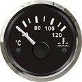 1pc 100% Marke Neue Wasser Temperatur Indikatoren 40 120 Grad Schwarz Wasser Temperatur Messgeräte 12 V/24 V für Boot oder Auto-in Wassertemperatur-Messgeräte aus Kraftfahrzeuge und Motorräder bei