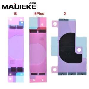 Image 5 - 500 pcs batterie originale bandes adhésives autocollantes pour iPhone 5 5 s 5c 6 6 s 7 8 plus X Double bande tirer voyage colle pièces de rechange