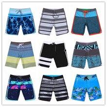 Summer 2019 Phantom Elastic Spandex Beach Board Shorts Swimwear Man Gay Sexy