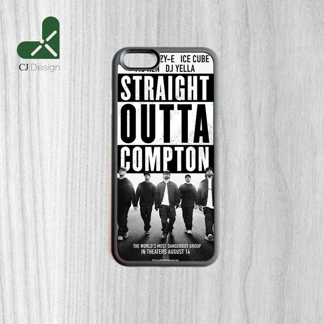 Latest Design Straight Outta Compton Movie Style Phone Back Cover