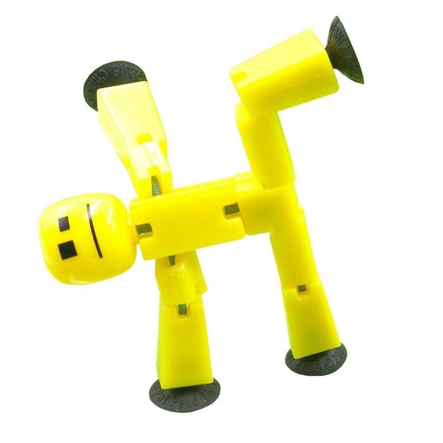 Figuras de Ação e Toy stikbot cão robô de brinquedo Fantoches : Modelo