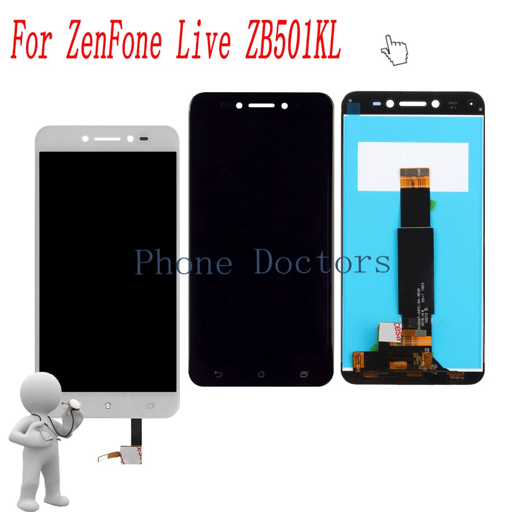 5.0 Inch Full LCD DIsplay+Touch Screen Digitizer Assembly For Asus ZenFone Live ZB501KL X00FD