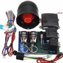 Новая Автомобильная сигнализация без ключа автоматический вход дистанционное управление Блокировка пассивная кнопка старт/стоп Дистанционный датчик сирены двигателя для Toyota