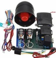 New Car alarm system Keyless Auto Entry Remote Control Locking Passive Button Start/Stop Remote Engine Siren Sensor For Toyota