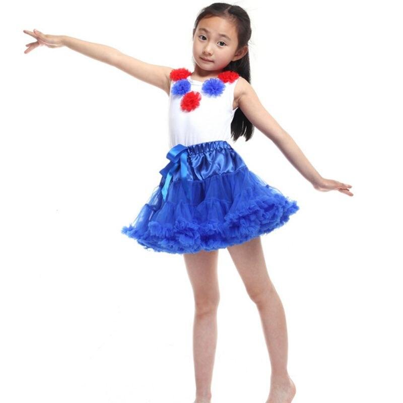 Toddler Girl Baby Fluffy Pettiskirt Girl Princess Tutu Skirt Dancewear Party Skirt 0-8Y
