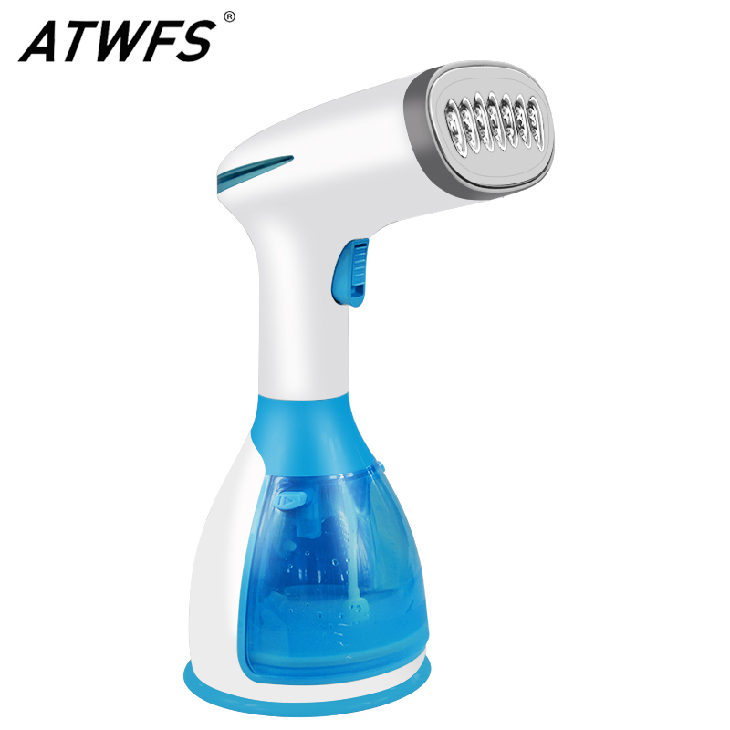 ATWFS Garment Steamer Clothing Travel Steam Iron for Clothes Ironing Machine 280ml Handheld Fabric Steam Brush Home Appliances