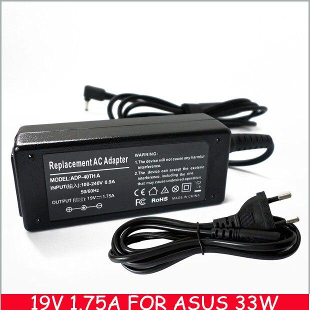 19V 1.75A 33W For Asus Laptop Charger VivoBook Q200E Q200E-BHI3T45 X201E X202E Q200 AD890526 AD890528