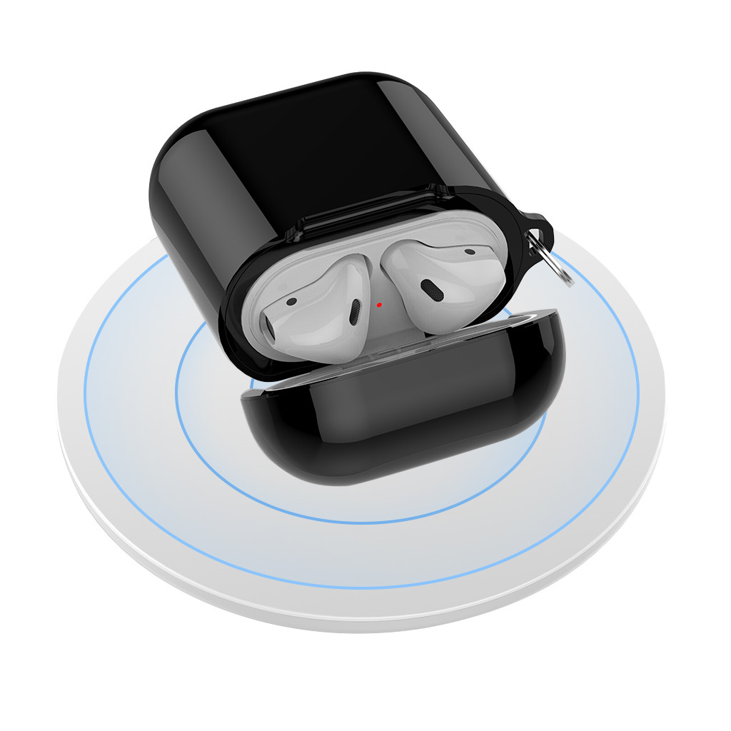 2019 Fashion Wireless Headphones Qi Wireless Charger Soft Silicone Shock Proof Case Cover For Apple Airpods Dropshipping#F35