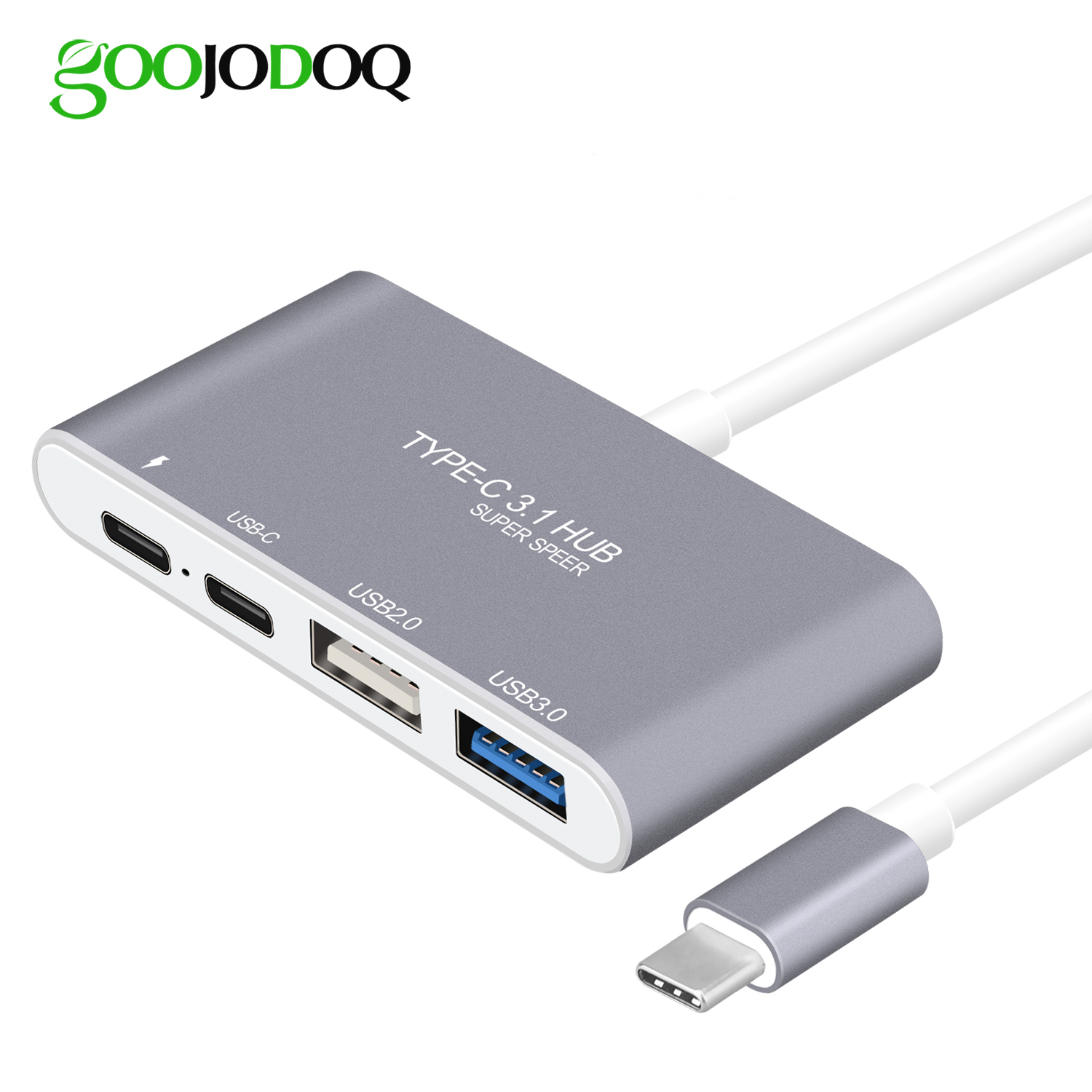 USB 3.1 Type C Hub Type-C to USB C Female USB3.0 USB2.0 Hub with USB-C Charger PD for MacBook Pro and more Devices